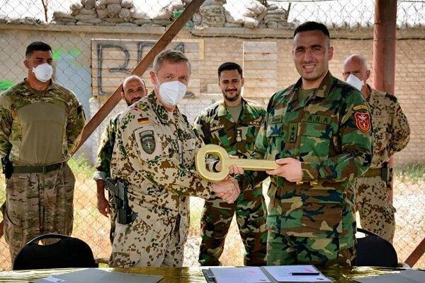ارتش افغانستان یک پایگاه نظامی را از نیروهای آلمانی تحویل گرفت