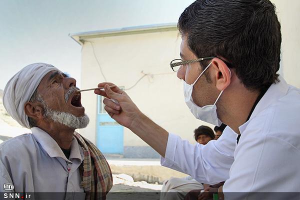 جهادگران دانشگاه علوم پزشکی کرمانشاه به 170 نفر از اهالی منطقه ملاحسینی خدمت رسانی کردند