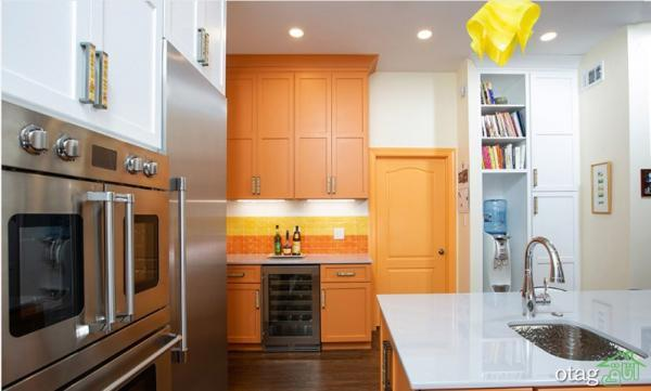 روش های نو رنگ آمیزی آشپزخانه با ترکیب رنگ های شاد و مجذوب کننده